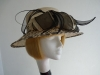 Nikita Rose Design Ascot hat Loops and Quill